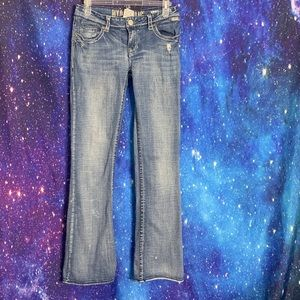 Hydraulic- Moto Boot Light Wash Jeans size 9/10